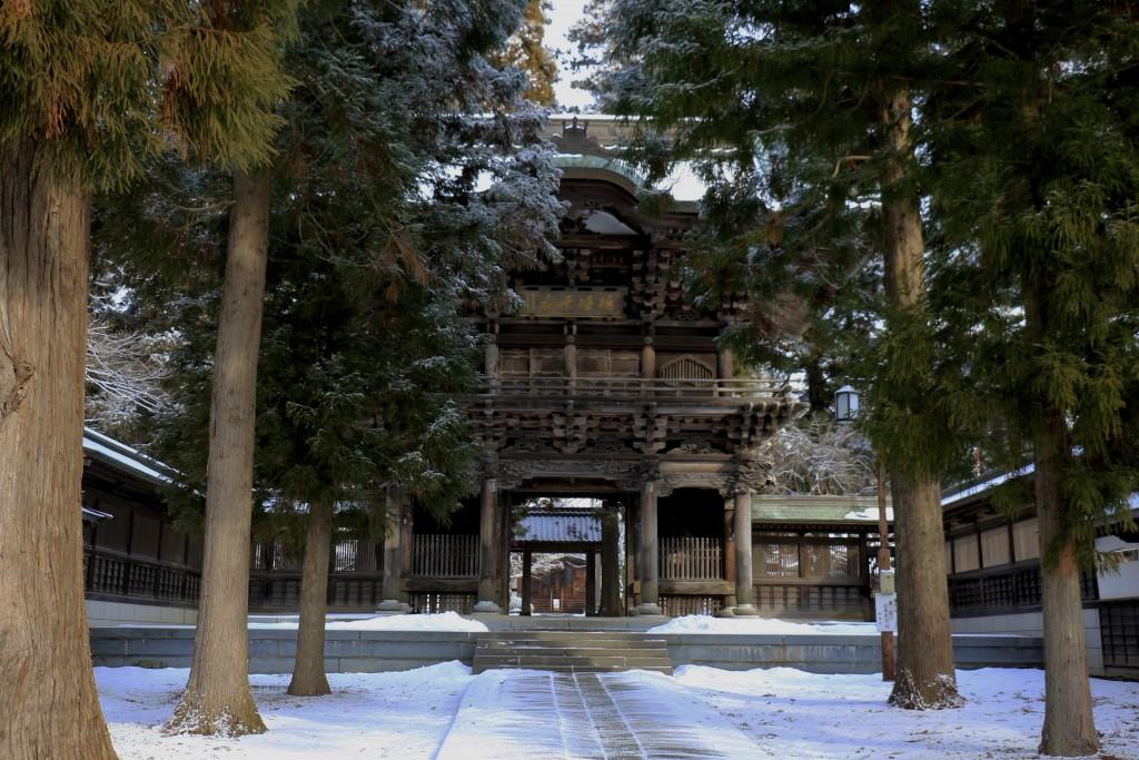 報国寺の入り口①